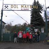 Před bránou dolu Mayrau