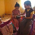 Berber children in Merzouga