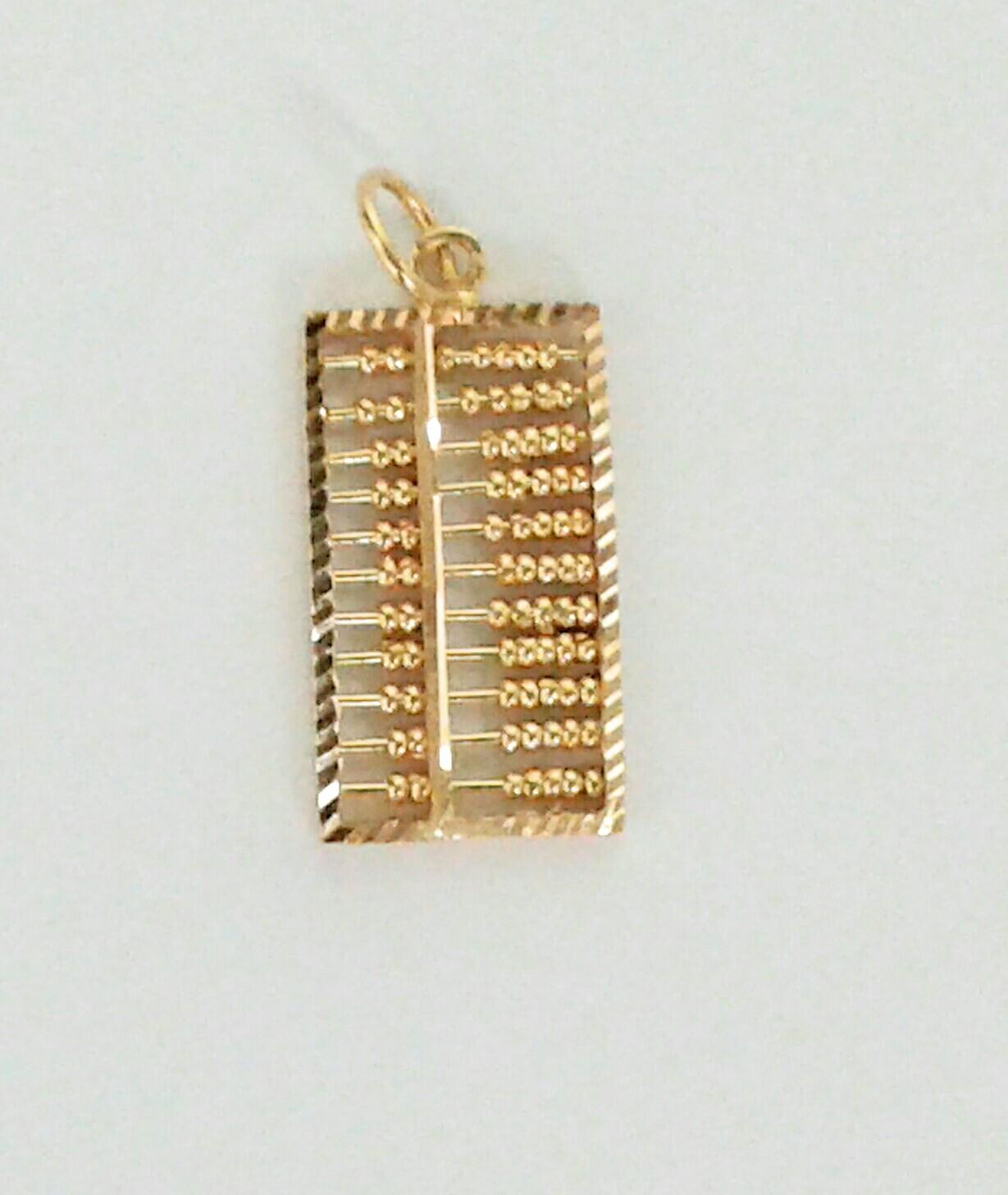 Abacus Pendant