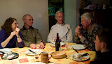 Dinner at Les Pignons