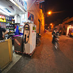 Old Medina of Marrakech has funny gas stations