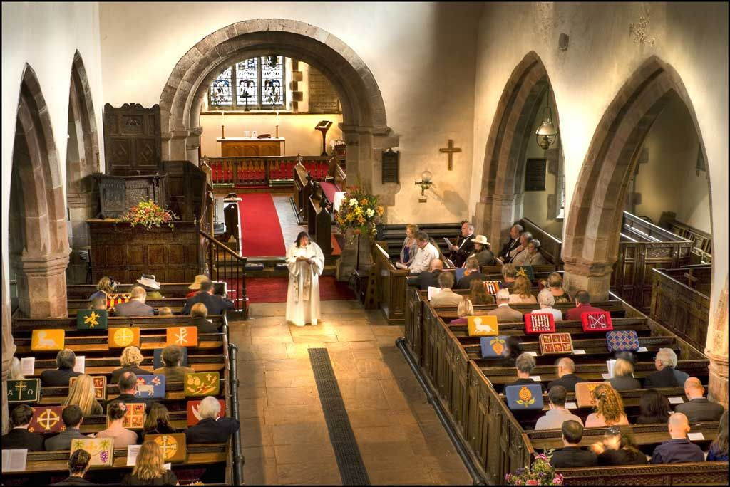 St Peter's Church as you've never seen it before!