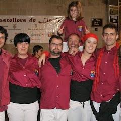 XV Diada dels Castellers de Lleida 24-10-2009