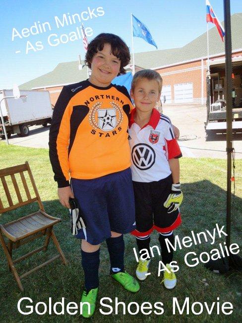 Aedin Mincks and Ian Melnyk