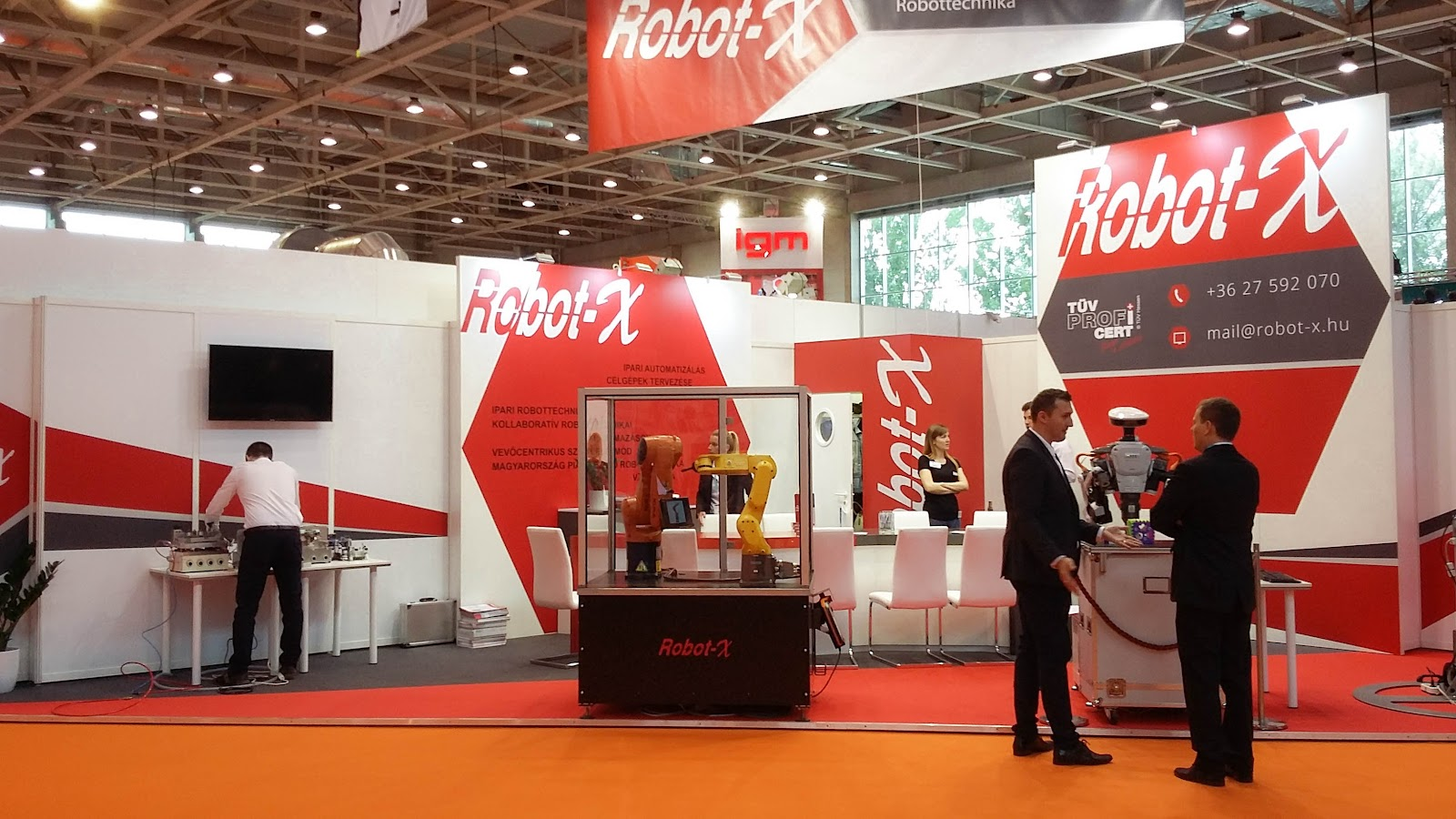 MachTech Budapest, RobotX - 2017