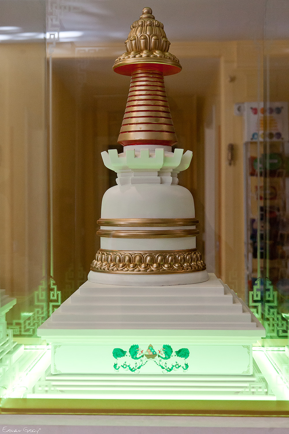 Stupa at Centro Nagarjuna Valencia, Spain