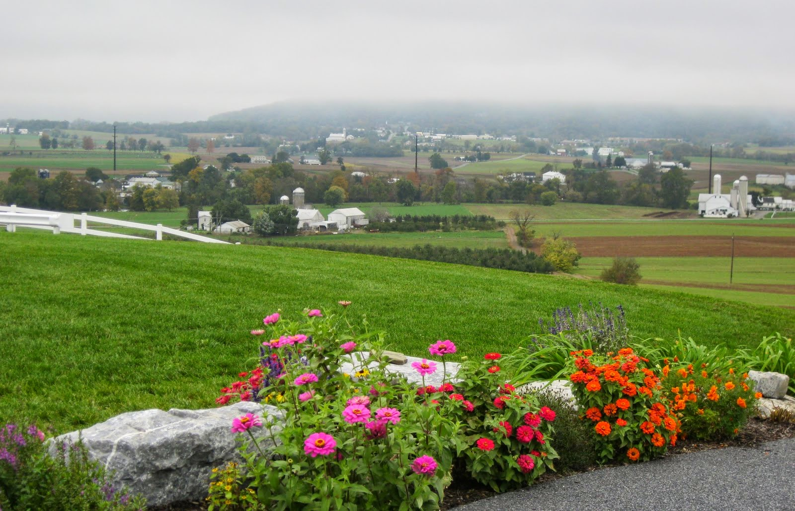 Another view of Ephrata from the top of the hill at Farm Crest