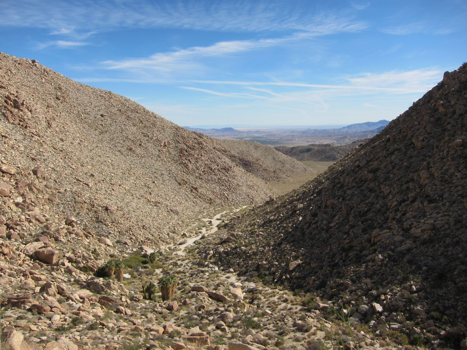 Looking back down into the South Fork of Indian Valley.