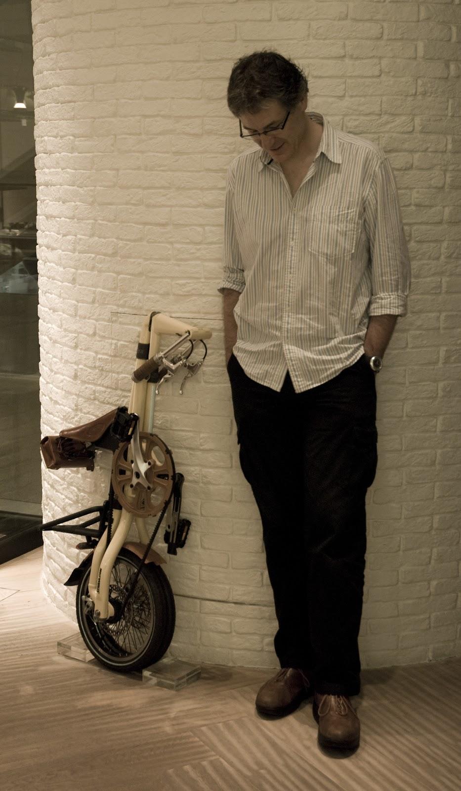 Mark in Lane Crawford, Hong Kong