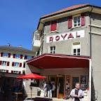 Première sortie pour le parasol du Royal, enfin du chaud et du soleil en ce merveilleux dimanche d'avril!
