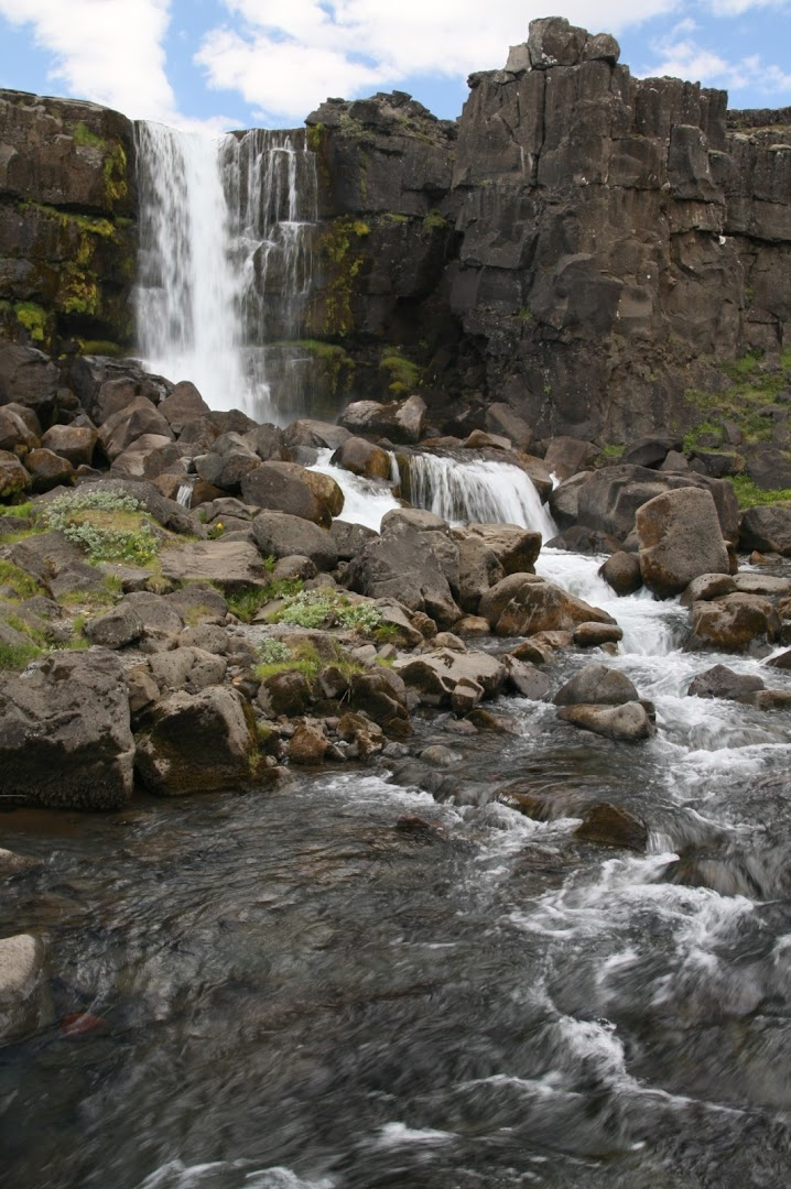 Öxarárfoss at Þingvellir - the place of the World's first democracy (year 930)
