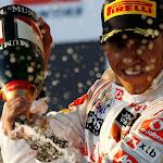 Lewis Hamilton wins 2nd place for McLaren