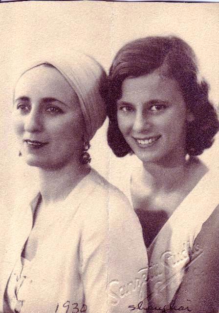 Dena and Rosemary, 1930