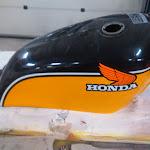 Honda 250 tank og deksel