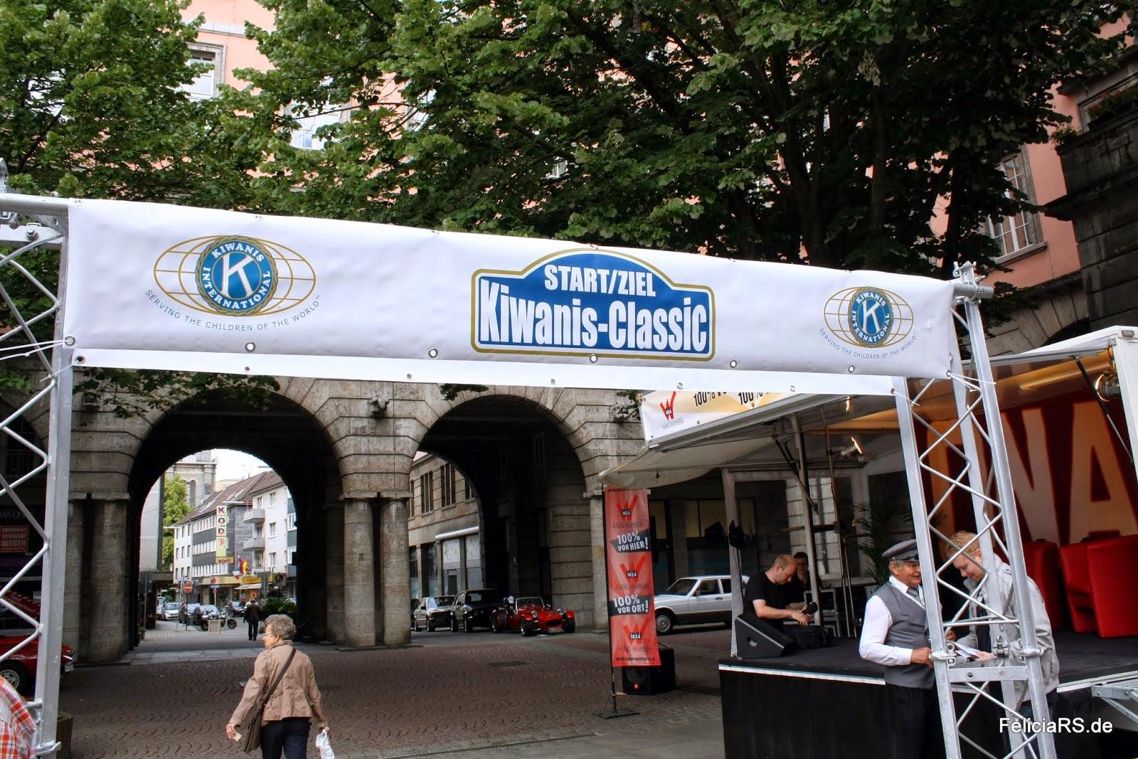 Start und Zielgerade Kiwanis Classic 2014