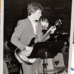 Mike early years with the Sandwich High School Jazz Band