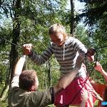 2009 40. Diecézní setkání mládeže Příchovice - lanové aktivity
