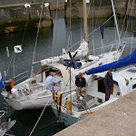 N35's: de blauwe Charisma (ex Heerenleed), de witte Marianne