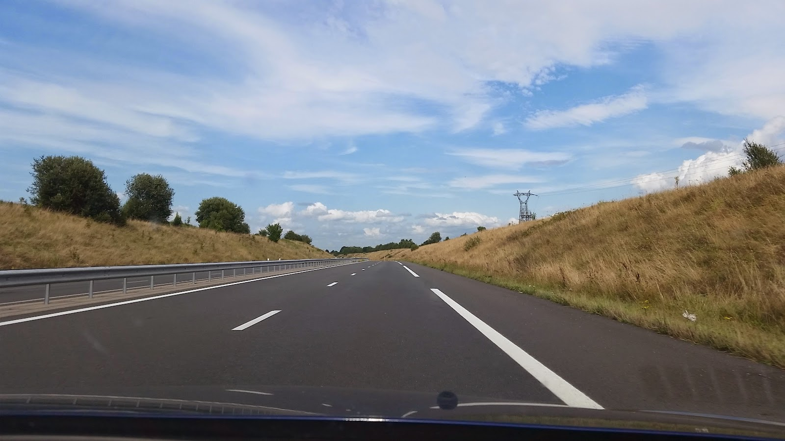 On the road again