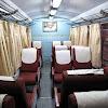 Inside Kalka Shimla Shivalik Deluxe coach