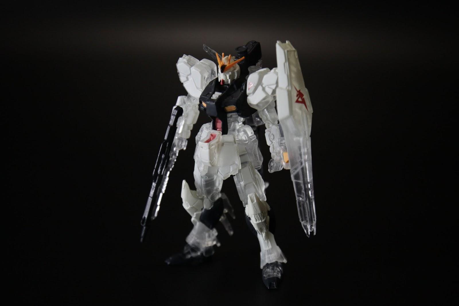 RX-93 Nu Gundam, 以這種大小的盒玩來說外觀刻畫很不錯
