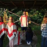 Indiánská svatba začíná - šaman promlouvá