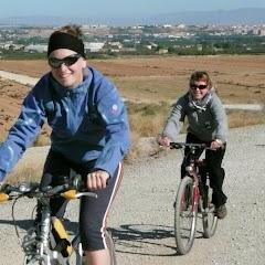 Bicicletada a l'Horta 4-10-2008