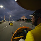 Riding the famous Coco Taxi