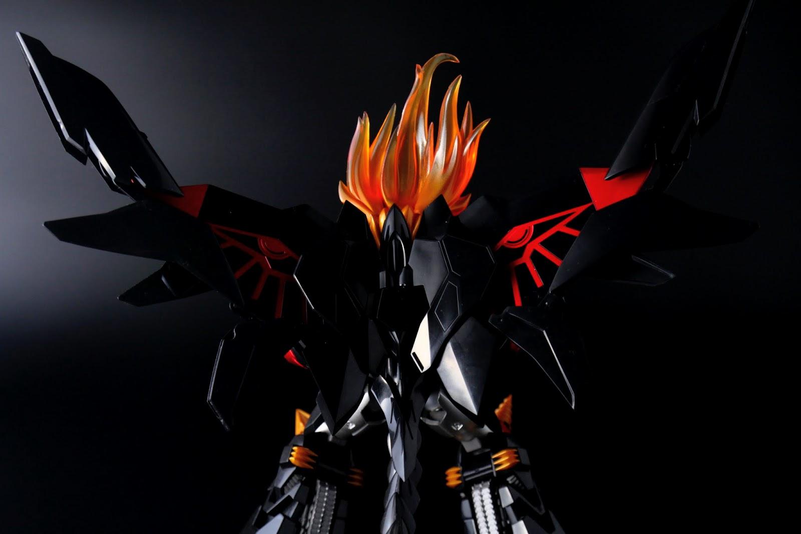 由ガジェットガオー本體構成的飛翼, 展開後展現出的破壞神之眼非常漂亮!