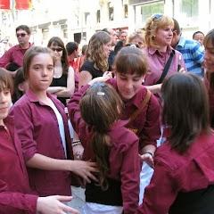 Barcelona-Portal del Àngel 4-05-2008