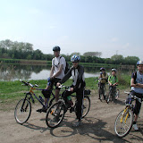 Cyklovýprava Lázně Toušeň 2008