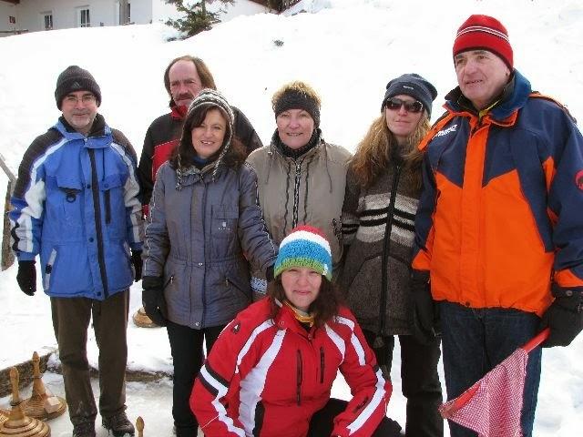 Eisstockschiessen 2012