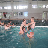 Máme sice bazén v táboře, ale tenhle je krapet větší