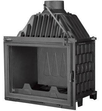 PANTHERM 62 RAVNI lateral dim.620x500 promjer dimovodne cijevi: fi150/fi200 težina ložišta:125 kg