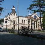 Centrum Kutaisi je vyparáděné pro turisty...