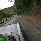 Curvas peligrosas - dangerous curves of the only road to Baracoa built only in 1960s