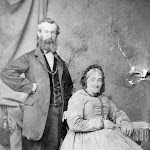 Mr and Mrs James, owners of the Old Forge in the early 1900s when it was also a grocery shop and Post Office