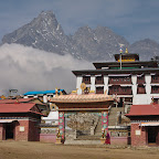 Tengboche monatery - the only way to reach it is to walk for 5 days