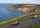 Alum Bay on the Isle of Wight