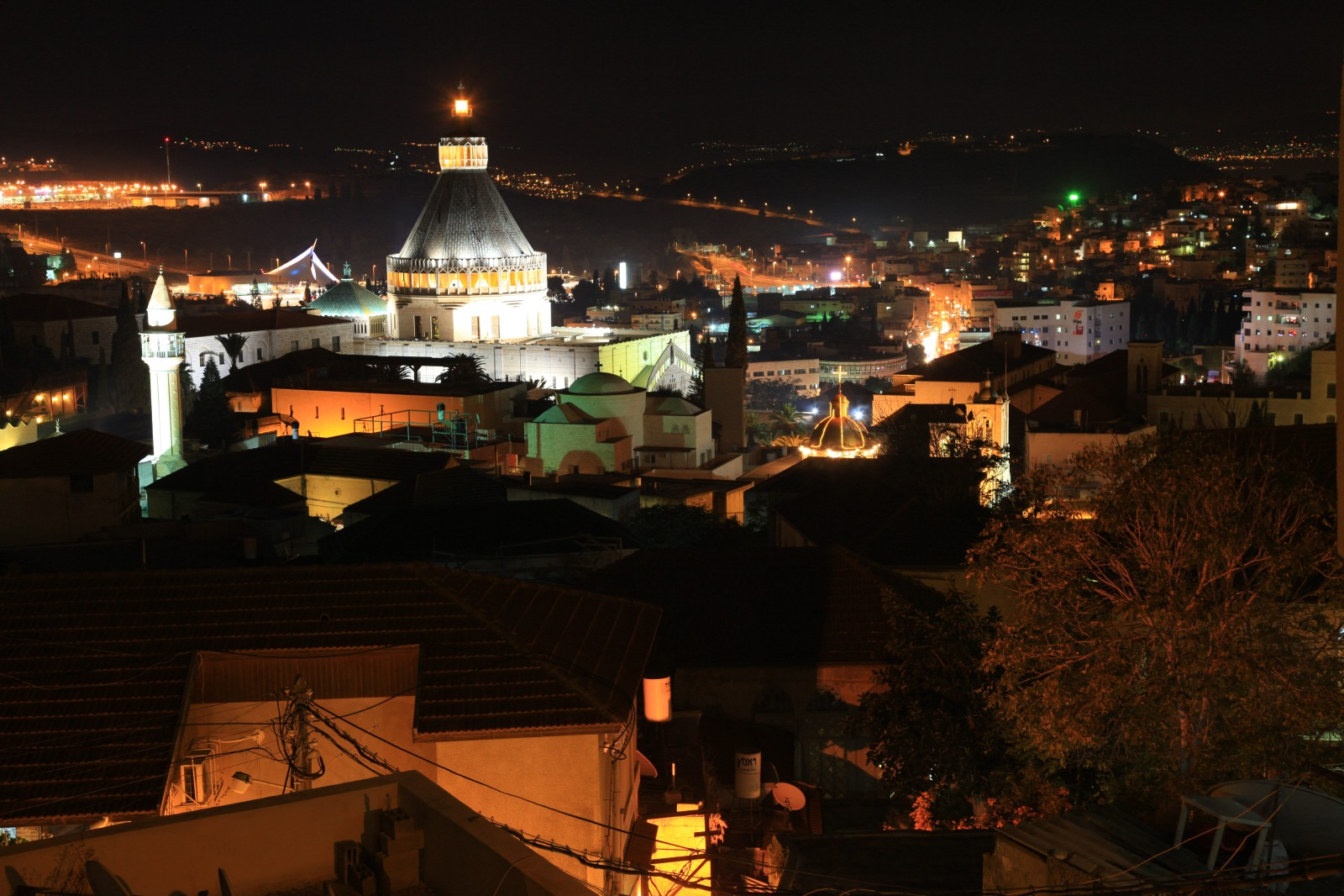 Nazareth by night