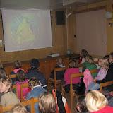 A úplně na závěr mohly děti shlédnout ve hvězdárně film o souhvězdích