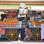 In Marrakech you are literally forced to drink fresh orange juice