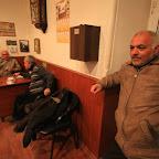 People enjoy tea before praying