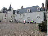 The chateau and gite at Mareuil-sur-Cher