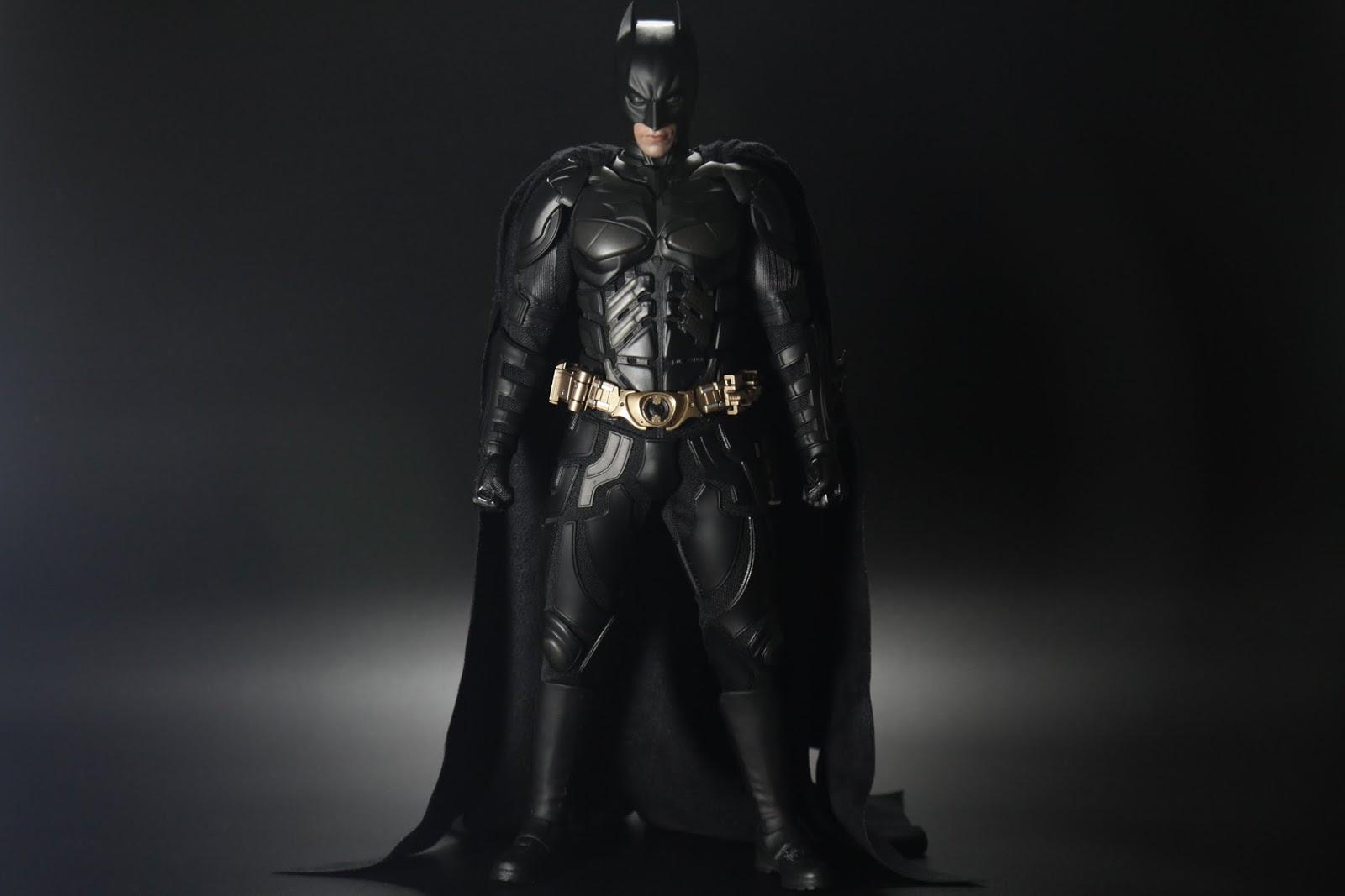 """蝙蝠俠本體, 造型是第二集的""""The Dark Knight"""""""
