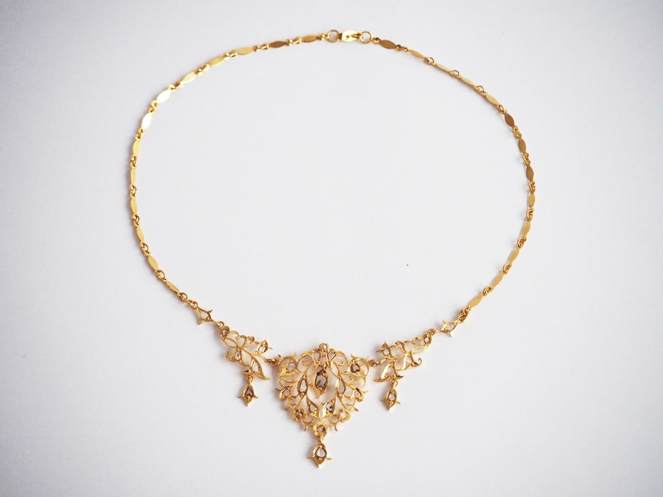 Precious Stone Necklace