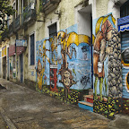 Small example of numerous street graffitis of Rio