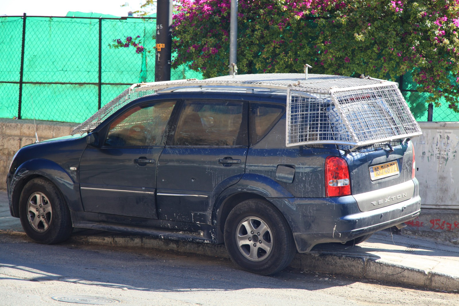 I wonder why in East Jerusalem would you need such a car?