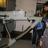 Střelecká místnost s protitankovým kanónem vzor 36, ráže 47 mm. Svého času údajně nejlepší druh této zbraně na světě.
