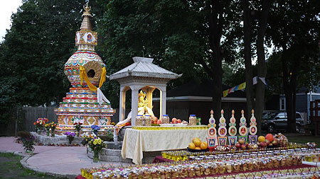 The Kalachakra Stupa at Kurukua Center, USA